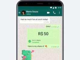 WhatsApp pagos Brasil
