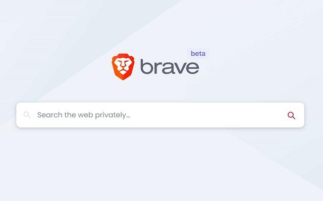 Brave navegador motor propio