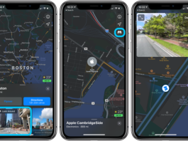Look Around Street View Apple Maps