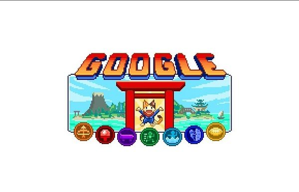 Google Olympic games doodle