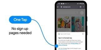 Google One Tap
