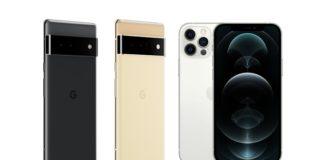 Pixel 6 iPhone 13