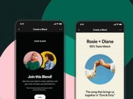 Spotify Blend playlists amigos