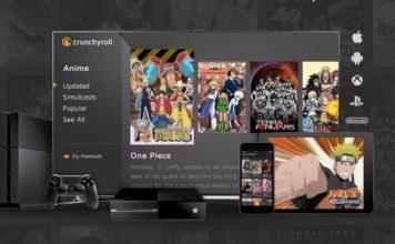 Google TV Crunchyroll