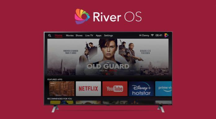 River OS LG Smart TVs