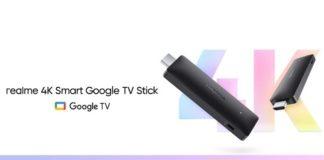 Realme 4K Smart TV Google Stick